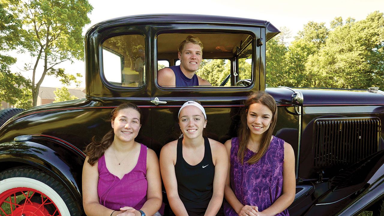 The 2018 New Hope Automobile Show Scholarship Recipients