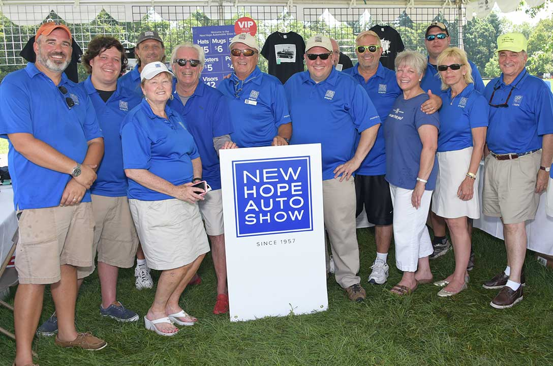 New Hope Automobile Show Volunteers