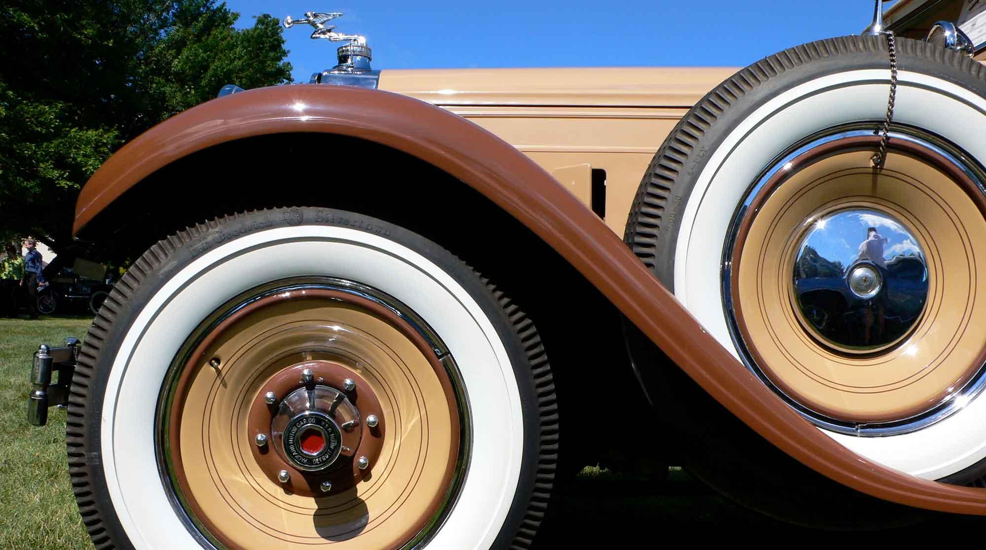Senior Class 1929 Packard owned by Warren Rubin