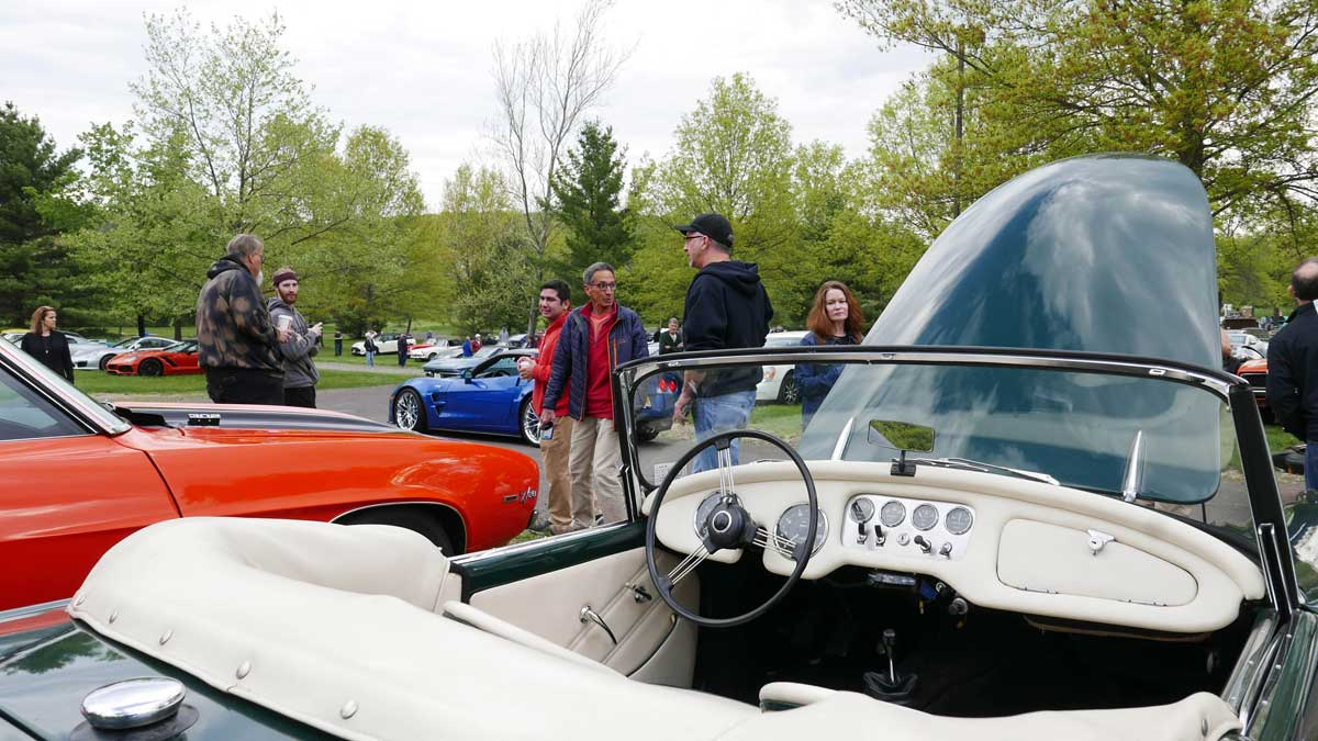 The New Hope Automobile Show Spring 2021 Cars & Coffee Damiler
