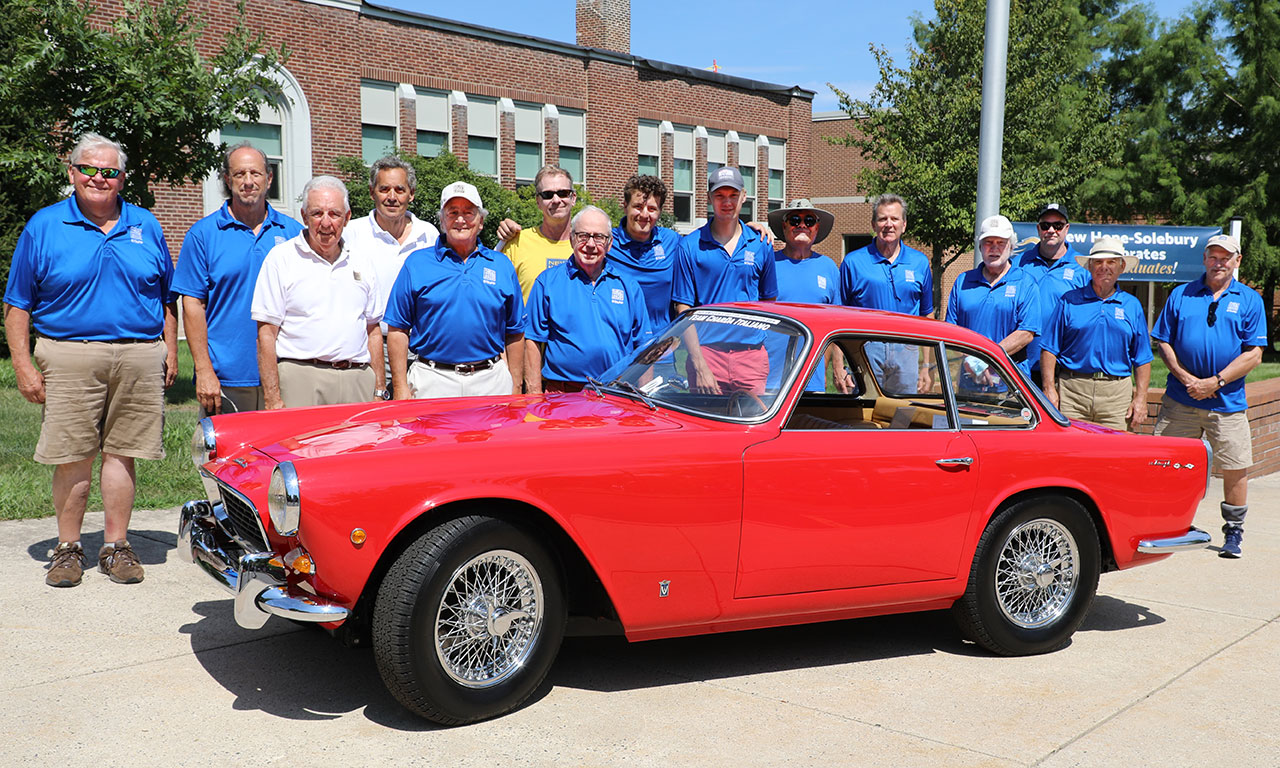 New Hope Automobile Show committee and New Hope-Solebury Community Association board members and volunteers